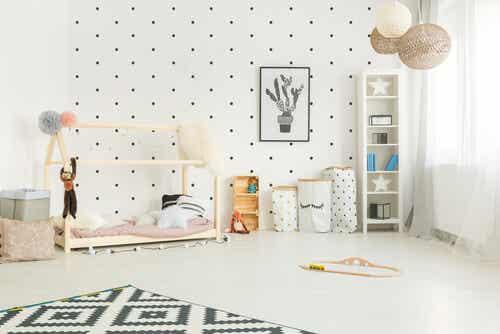 O método Montessori para decorar o quarto da criança