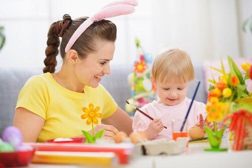 3 atividades manuais para crianças de 3 a 5 anos
