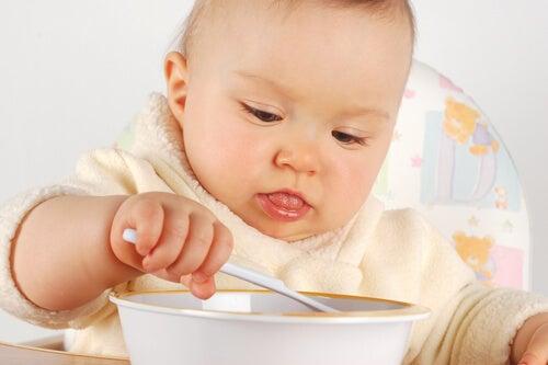 Uma boa nutrição no primeiro ano de vida do bebê permitirá que ele cresça saudável.