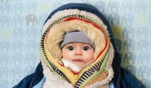 roupa de inverno para recém-nascido