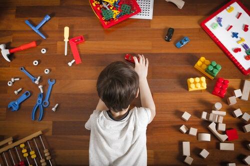 ideias para organizar o espaço de brincar