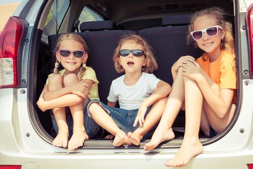 viajar com as crianças
