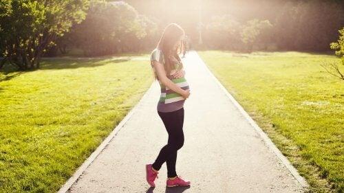 corrida e gravidez