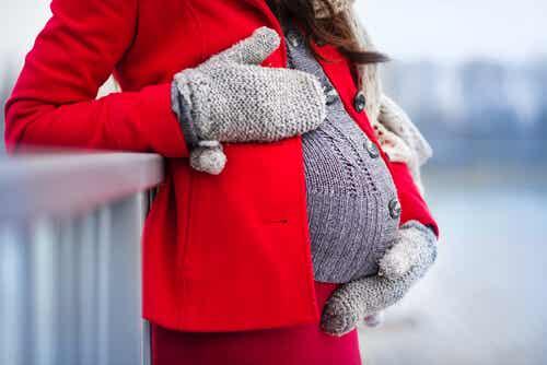 Roupas de inverno para grávidas