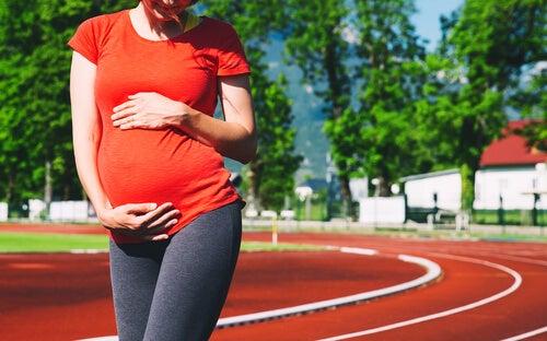 Corrida e gravidez: uma combinação possível
