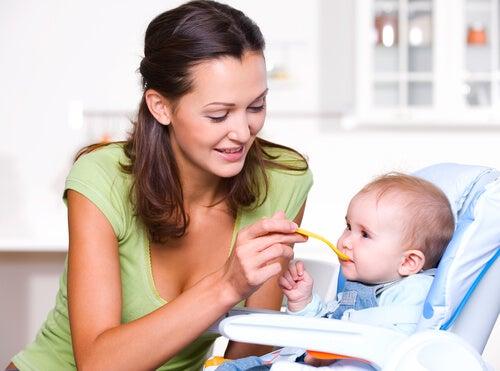 Nutrição no primeiro ano de vida do bebê