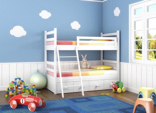 6 ideias para decorar um quarto para duas crianças
