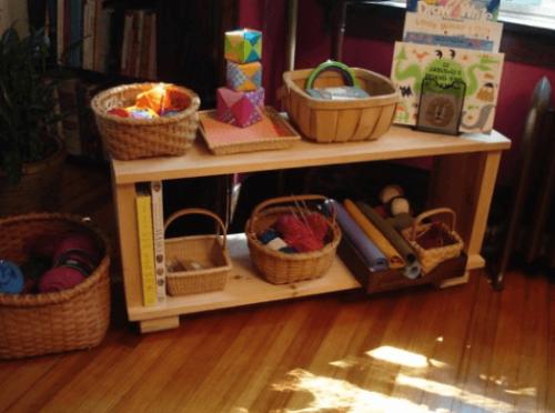 organizar a sala segundo o método Montessori
