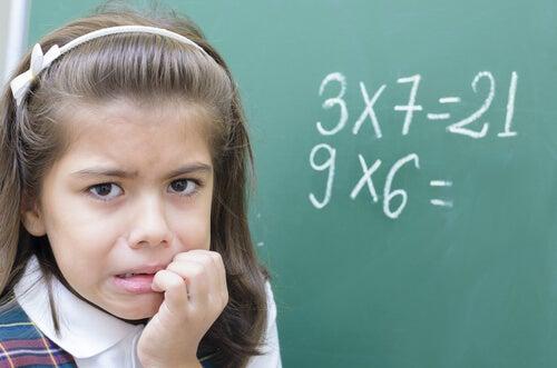 A ansiedade gerada pela matemática nas crianças