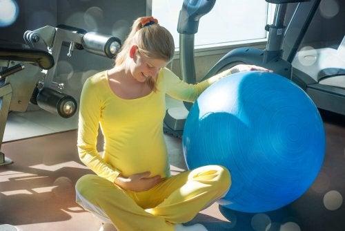 Exercício de abdômen