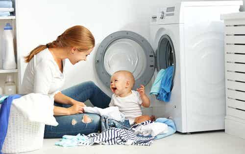 7 dicas para lavar as roupas do bebê