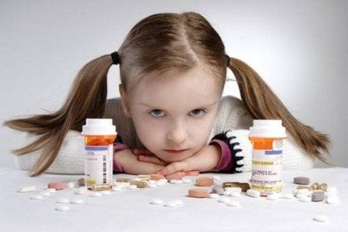 Produtos tóxicos para as crianças