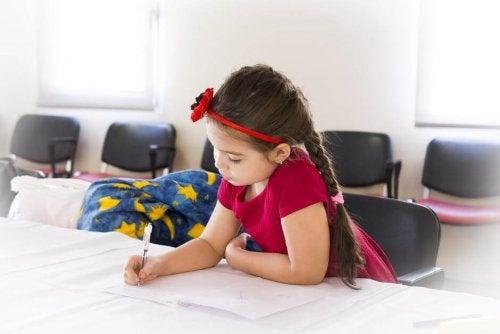 As lições de casa em excesso esgotam as crianças