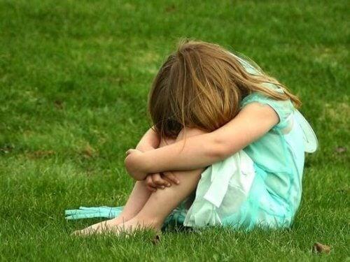 A vergonha nas crianças