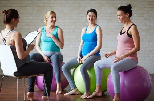 grávidas na ioga
