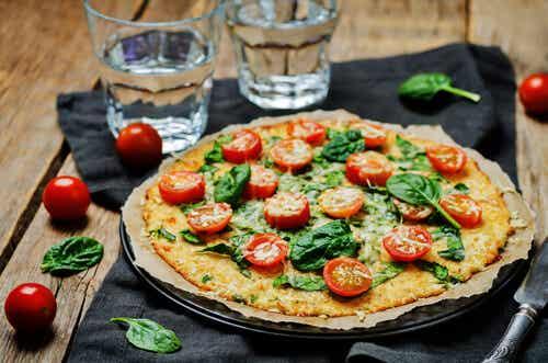 4 ideias de pizzas saudáveis para fazer em casa