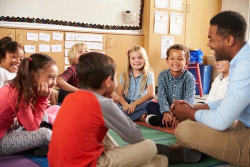 tanto alunos como professores gostam de uma boa história