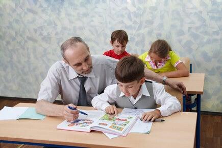 Um bom professor faz com que cada criança se sinta especial