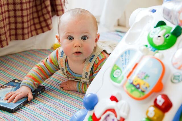 Coisas que acontecem quando o bebê cresce