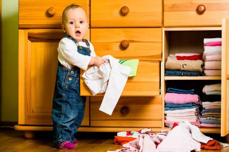 6 ideias de armário para o quarto do bebê