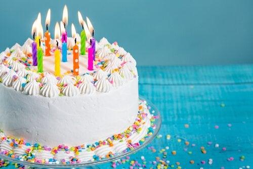 4 ideias para bolos de aniversário