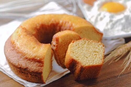 bolos para lanches da tarde