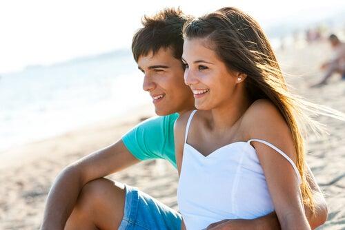 Como é uma adolescente apaixonada?