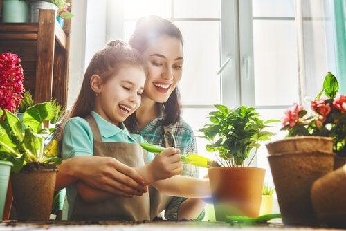 botânica para crianças