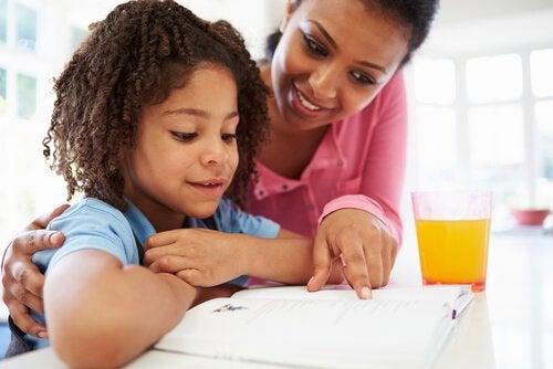 Ensinar divisão para as crianças
