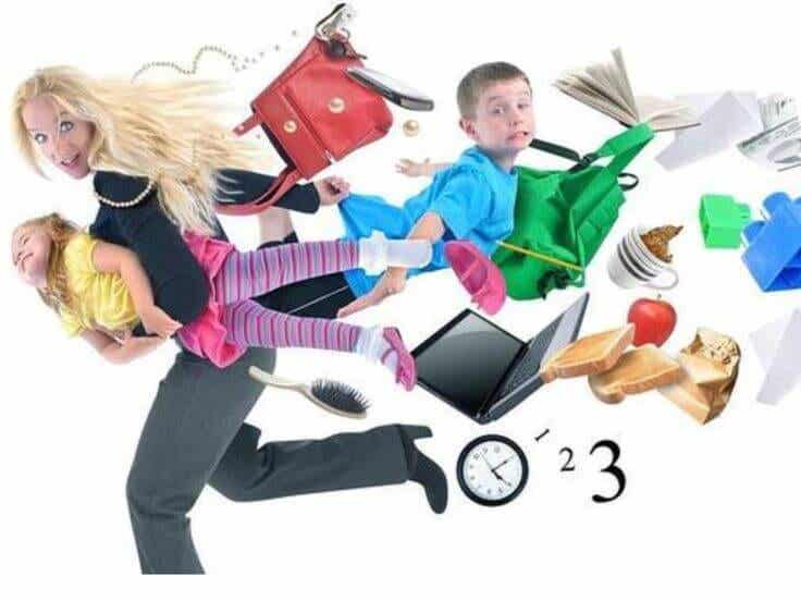 A corrida de obstáculos das mães que trabalham fora de casa