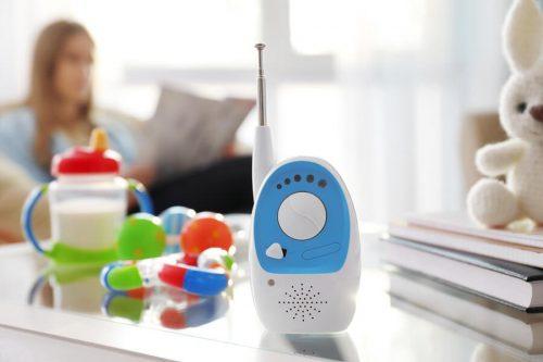 Babás eletrônicas para escutar os bebês