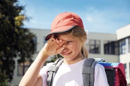 O que fazer se meu filho tiver medo de ir à escola?