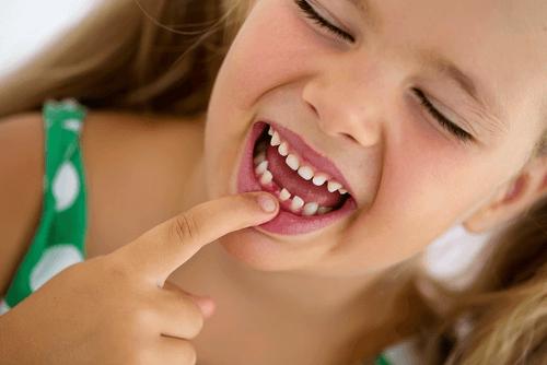 Dor de dente em crianças