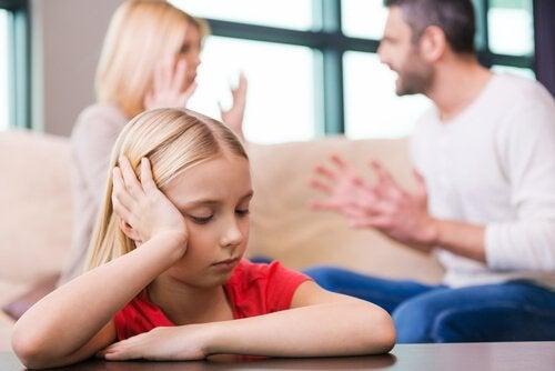 divórcio dos pais