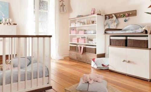 armário para o quarto do bebê