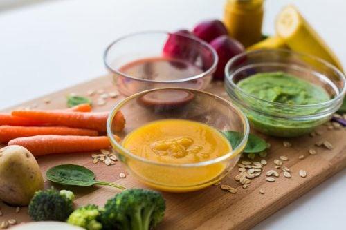 3 receitas de papinha com proteína para crianças