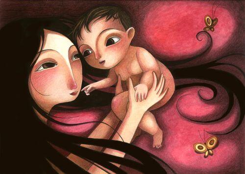 O importante de dar amor a uma criança é ela sentir