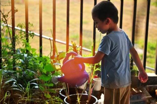 Educação ambiental para crianças