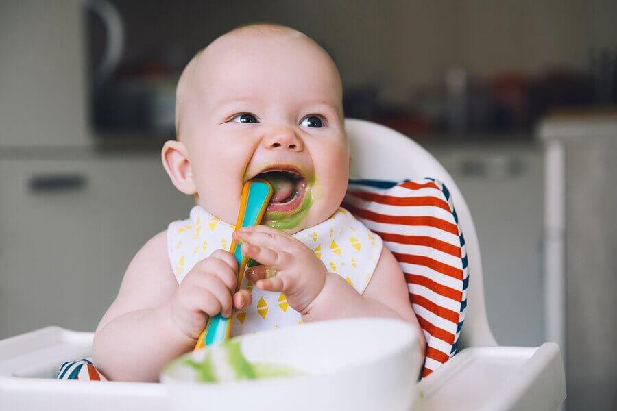 7 purês de legumes para bebês