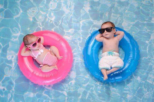 piscina inflável para bebês