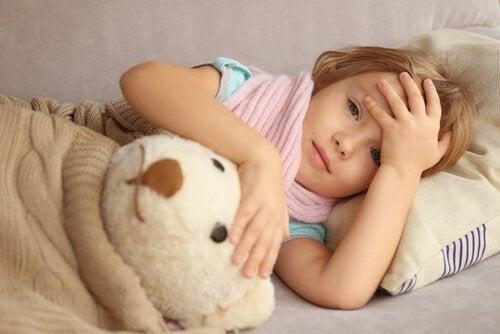 Crianças com epilepsia podem ficar sonolentas após uma crise.