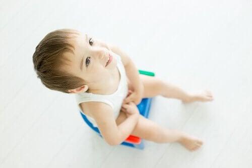 É importante certificar-se de que a criança está pronta para deixar a fralda antes de forçá-la.