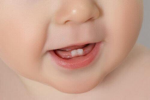 Dentição em bebês