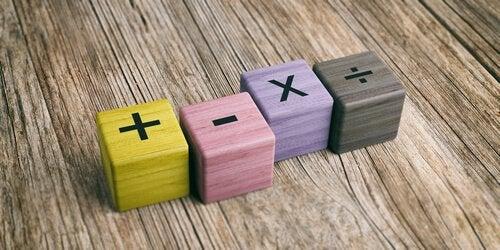 ensinar as crianças a multiplicar