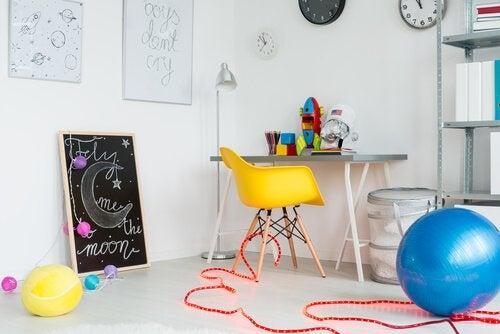 espaço de jogos para crianças
