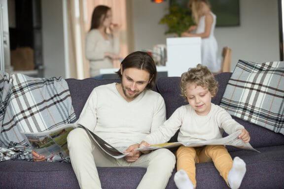 O melhor exemplo para as crianças vem de casa