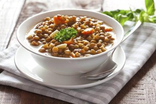 prato de lentilhas