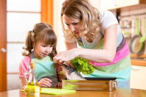Seis ideias para fazer com que as crianças comam peixe