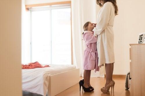 As crianças precisam encontrar coerência entre o que você prega e o que você faz