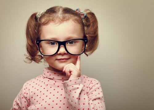 cuidar do sentido da visão nas crianças